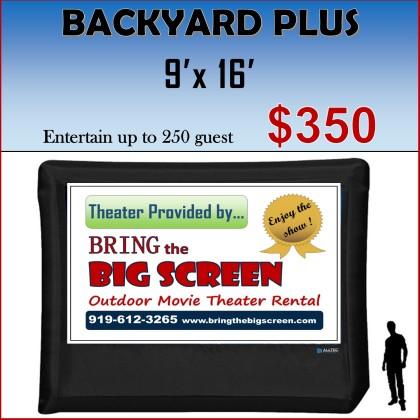 BBS Backyard Plus PACKAGE (350)